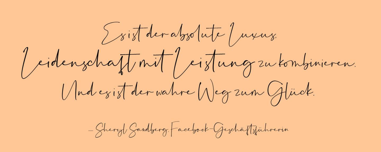 Zitat Erfolg Sheryl Sandberg Facebook-Geschäftsführerin